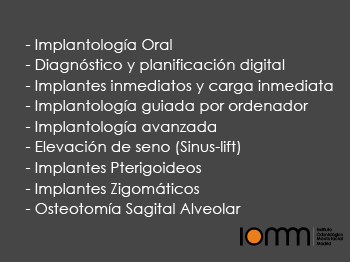 Clinica especializada implantes dentales