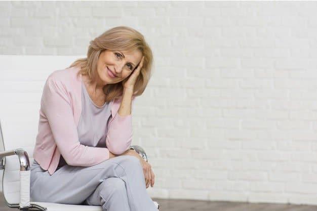Atrofia mamaria en la menopausia
