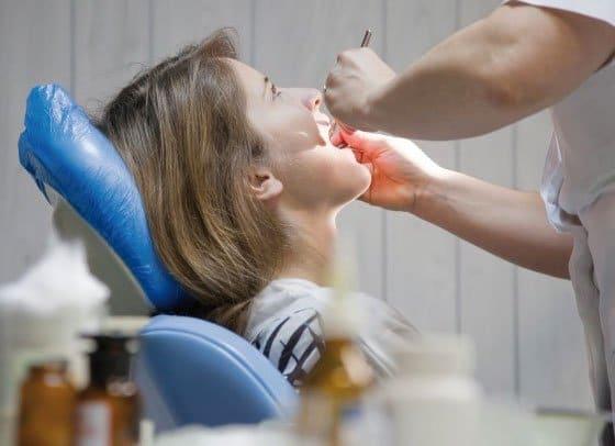 Tratamiento de la fístula dental