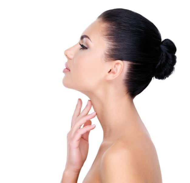Trtatamiento de la flacidez en el cuello