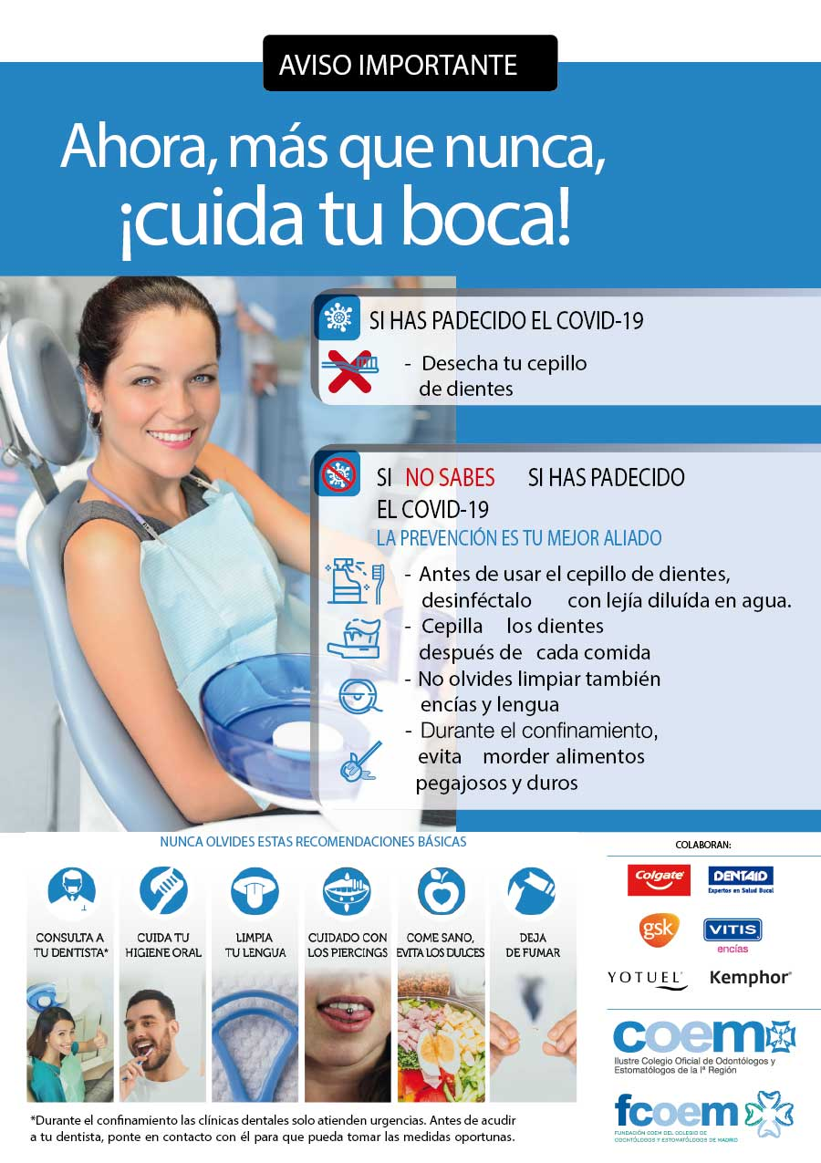Higiene dental COVID-19