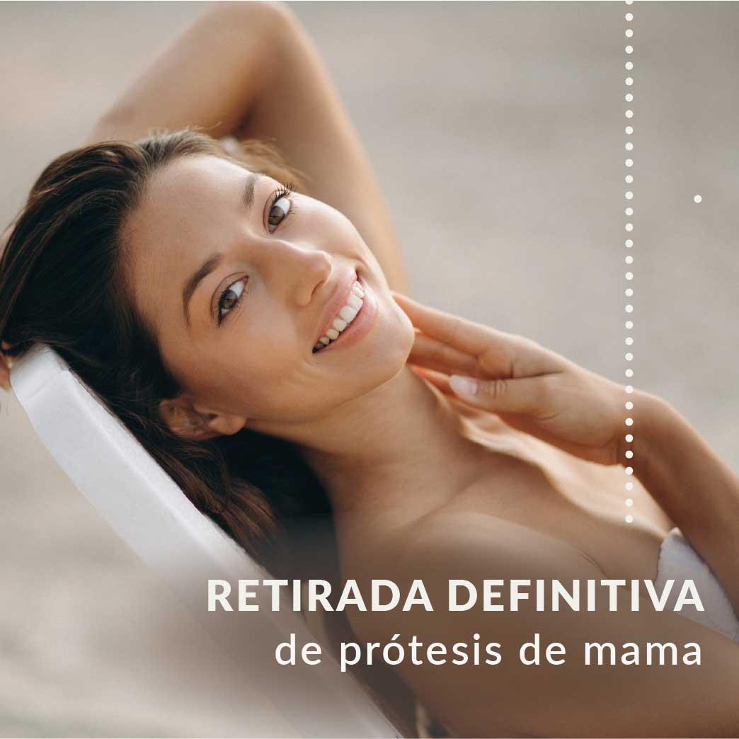 Precio de retirar protesis de mama