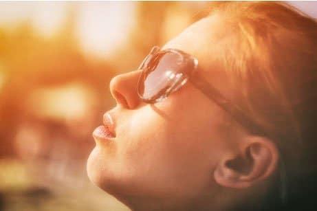 Efecto de las radiaciones solares en la piel