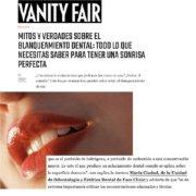 Aparición Vanity Fair Enero 2021